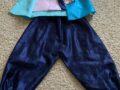 남자 아이 스케이트 슈즈(사이즈 1)와 한복 (6~8세용)팔아요.