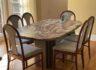 대리석식탁과 의자6개 판매합니다.
